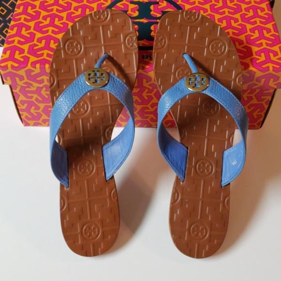 9445d3e49b4fc NIB Tory Burch THORA Flip Flop Sandal Size 7